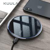 KUULAA 15W Qi Wireless شاحن 15W Wireless شحن Pad For iPhone XS XR 11Pro Mi10 ملحوظة 9S S20 + ملحوظة 20
