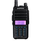 BAOFENG F-X3plus três rádio portátil Banda Walkie Talkie 18W 9500mAh à prova d'água à prova de poeira alta potência de longo alcance