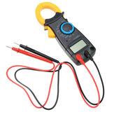 VC3266L + Medidor Digital de Abrazadera Multímetro Electrónico CC CA Probador de Voltaje Amperio Ohm