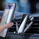 MCDODO 2020 New Gravity Linkage Automatic Lock Air Vent Car Phone Holder Car Mount 360 Degree Rotation For 4.0-7.0 Inch Smart Phone