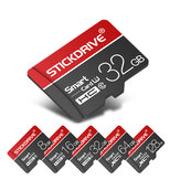 StickDrive 8GB 16GB 32GB 64GB 128GB Class 10 High Speed TF Memory Card With Card Adapter For Mobile Phone iPhone Samsung Huawei Xiaomi