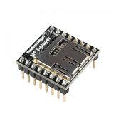 Arduino用MicroSDカードリーダーGeekcreit付き3個WTV020オーディオモジュールMP3プレーヤー-公式Arduinoボードで動作する製品