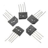 5pcs 10A 1000V KBU1010 Chip IC de puente rectificador de diodo de una sola fase