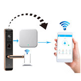 Portable Door Lock Gateway WIFI APP Internet Inteligentny pilot zdalnego sterowania Lock Gateway