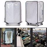 حاميالأمتعةغطاءشفافواضحPVC السفر 22-28 بوصة حقيبة الغبار واقية