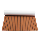 240cmx120cm Upgrade Brown EVA Foam 6mm Grubość Faux Teak Boat Flooring Decking Sheet Pad