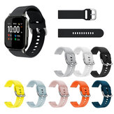 Soft Силиконовый Ремешок для часов Часы Стандарты для Haylou LS02 BW-HL1 BW-HL2 BW-HL1T BW-HL1Pro