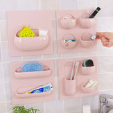 Wall Storage Basket Bathroom Kitchen Study Creative Hanger Holder Multifunctional Box Organizer
