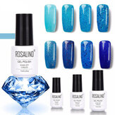 898427 Gel Soak-Off Ongles Glitter Paillettes Série Bleue Série Bleue 8Colors