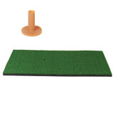 Backyard Golf Practice Mat Training Pratique de frappe Tee Holder Grass Mat