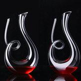 カタツムリアルコール注ぐツール透明なクリスタルガラス液体デカンター創造的な形のバーウェアセット