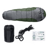 Vodotěsný polyester 210T Vodotěsný spací pytel Outdoor Camping Travel Single Person Envelope Sleeping Mat