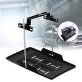 عالمي سيارة معدن قابل للتعديل البطارية علبة قابل للتعديل باستمرار أسفل المشبك قوس كيت دورة