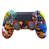 Data Frog Soft Silicone Gel Rubber Case Cover for SONY Playstation4 Controller Protection Case for PS4 Pro Slim Gamepad