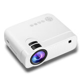 YJ333 LCD Projector Andorid Version 2800 Lumens Support 1080P Input Multiple Ports Wifi Bluetooth Portable Smart Home Theater Projector