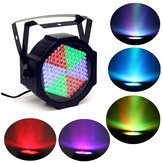 25W 127 LED Cor cheia Color RGB Stage Par Light Bar KTV Chrimstmas