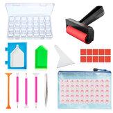 20 / 22pcs Ferramenta de pintura com diamante DIY Kit de acessórios para pintura de diamante adulto ou infantil Caixa Kit de caneta com cola