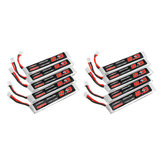 10Pcs URUAV 3.8V 300mAh 40/80C 1S HV 4.35V PH2.0 Lipo Battery for Eachine TRASHCAN Snapper6 7 8 US65