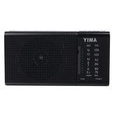 DraagbareAM530-1600KHzFM-radioLEDFlash Lichte luidspreker MP3-speler