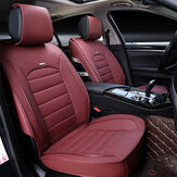 1 Pcs Soft Wear-Resistant PU Leather Universal Car Front Seat Cover Cushion NEW
