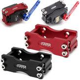 Black/Red CNC Aluminium Alloy Steering Gear Bracket