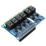6-kierunkowy przekaźnik 6-kanałowy z płytką rozszerzającą Wsparcie dla Raspberry Pi A+/B+ / 2B / 3B