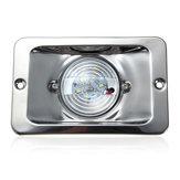 12V LED Водонепроницаемы Якорь Кормовой Свет Встроенный Морской Лодка Белый Нержавеющая сталь