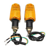 2pcs Motorcycle Motorbike Flasher Turn Signal Lamp Indicator LED Lights Universal