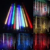 10 X 50CM LED Meteor Duş Yağmur Işıkları Su Geçirmez Tüpler String for Xmas AC85-265V için