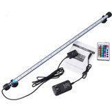 Aquário impermeável LED Light Bar Fish Tank Submersível Down Light Lamp AC100-240V 6.5W 57CM SMD5050