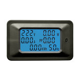 P06S-100A AC 110-250V Electric Energy Meter Household Multi-function Meter Digital Display Voltage and Current Meter Power Monitor