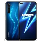 Realme 6 Pro EU-Version 6,6 Zoll FHD + 90 Hz Ultra Smooth Display NFC Android 10 4300 mAh 64MP AI Quad-Kamera 8 GB 128 GB Snapdragon 720G 4G Smartphone