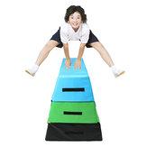 35.4x29.5x35.4inch Köpüklü PVC Soft Plyo Kutu Plyometrik Jump Kutu Vücut Egzersizleri Aletler Sağlık Fitnes Atlama