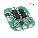 10pcs DC 14.8V / 16.8V 20A 4S Lithium Battery Protection Board BMS PCM Module For 18650 Lithium LicoO2 / Limn2O4 Short Circuit Protection
