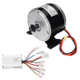 24V 250W Brushed Motor With Controller For 25H Chain Electric Bicycle Scooter E-Bike