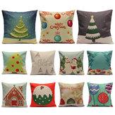 Christmas Candy Serie Kissenbezüge Heim Sofa Platz Kissenbezug