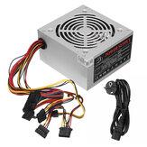 Fonte de alimentação host do computador Caso de 12V ATX, silenciosa e com potência de PC de 530W