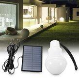 3W 120LM Солнечная Powered Светодиодный Bulb На открытом воздухе Кемпинг Пешеходная палатка Рыбалка Лампа