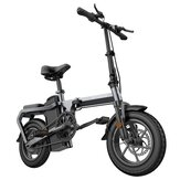 [US DIRECT] ENGWE X5 10Ah 48V 240W 14in Chainless Folding Electric Bike With Removable Battery 30km/h Top Speed E Bike