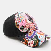 Protector solar para mujer Sun Sombrero Pato bordado de flores de moda Sombrero Gorra de béisbol