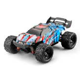 HS 18321 1/18 2.4G 4WD 36km / h RC Bil Model Proportional Control Big Foot Monster Truck RTR Vehicle