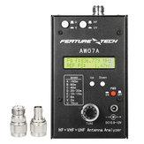 AW07A HF / VHF / UHF 160 M Impedance SWR Antenne Analyzer Meter voor Ham Radio Hobbyisten