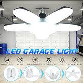 E27/B22 Deformable LED Garage Light Bulb 80W SMD2835 Ceiling Fixture Home Shop Workshop Lamp 85-265V/220V