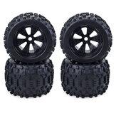 ZD Racing 4pcs 1/8 Truck RC Car Wheel Tires With Hub Parts 170*100mm