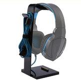 Universal Acrylic Headset Headphone Gaming Earphone Holder Hanger Display Stand
