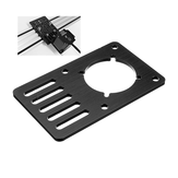 Machfit Aluminum Nema 23 Stepper Motor Mount Plate for V-slot Aluminum Extrusions Profile CNC Parts
