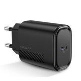 KUULAA 18 Вт 3A PD3.0 QC3.0 Mini Smart Универсальное настенное зарядное устройство USB Зарядное устройство ЕС / Великобритания / США Разъем для iPhone 11 Pro Макс