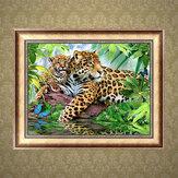 5D DIY Diamond schilderij Leopard Art Craft Kit handgemaakte wanddecoraties geschenken voor kinderen volwassene