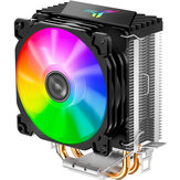 Jonsbo CR1200 CPU Cooler 2 HeatPipes Tower RGB 3Pin Cooling Fans Heatsink Hydraulic Bearing for Intel and AMD