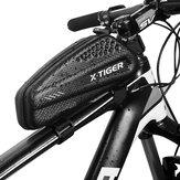 X-TIGER EX Torba na ramę rowerową 1L Wodoodporna torba rowerowa na rower 3D Pokrowiec z pianki EVA Góra rowerowa Torba na przednią rurkę Akcesoria rowerowe